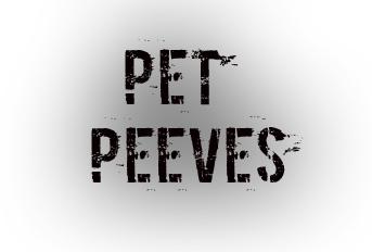 petpeeves